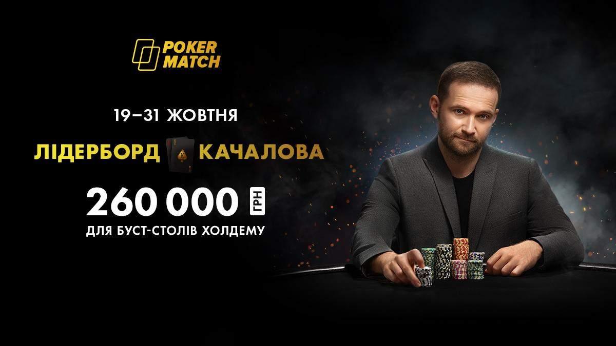 Комбінації з Качаловим: нова акція на PokerMatch