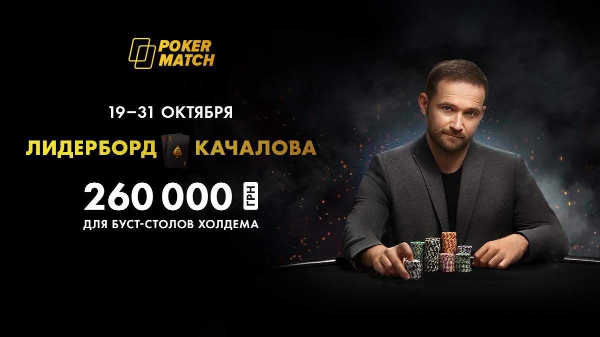 Комбинации с Качаловым: новая акция на PokerMatch