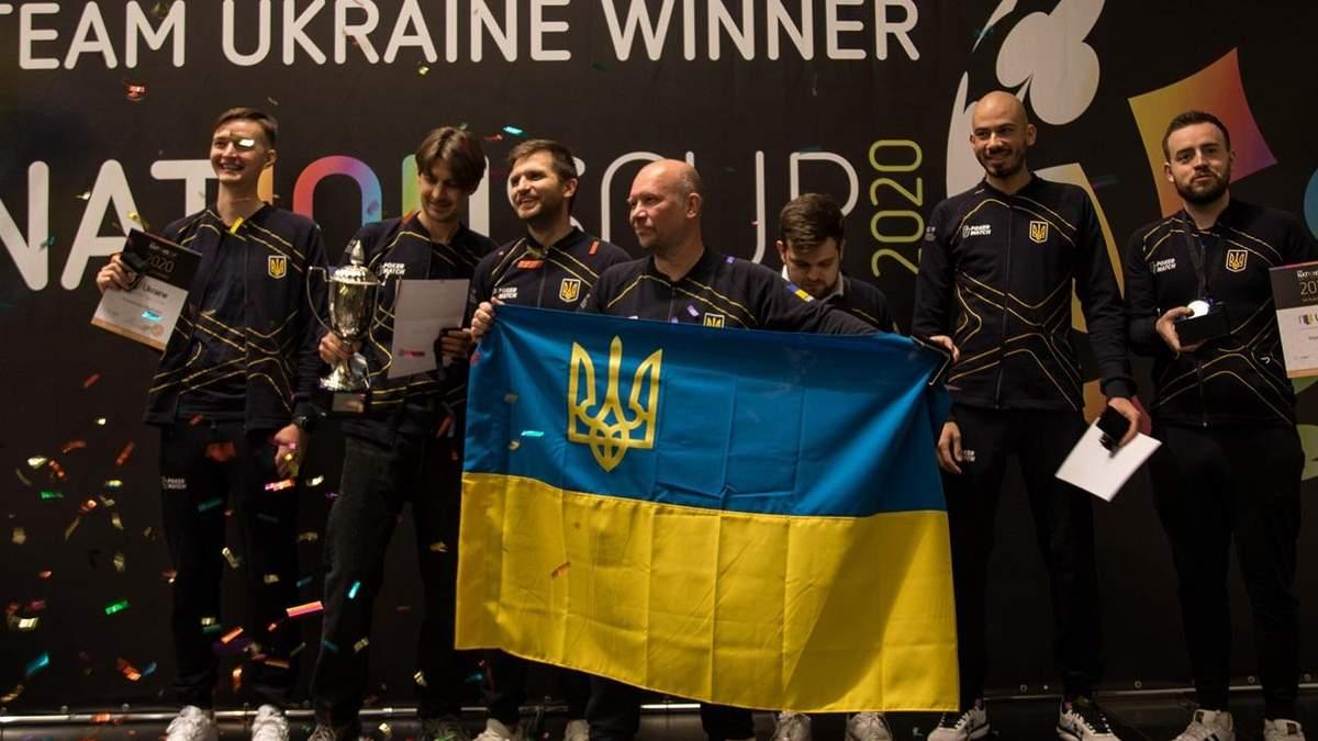 Сборная Украины по покеру