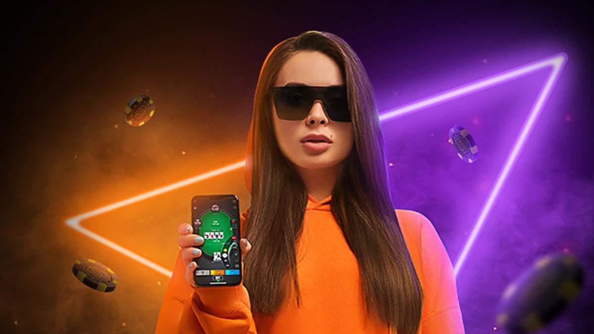 Українська красуня віддасть айфон тому, хто виграє у неї в покер