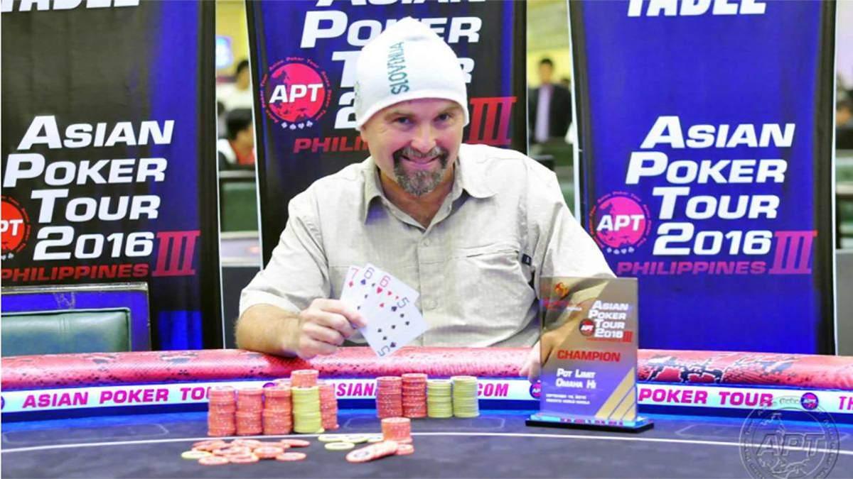 Словенський пілігрим виграв гроші в покер в 45 країнах світу