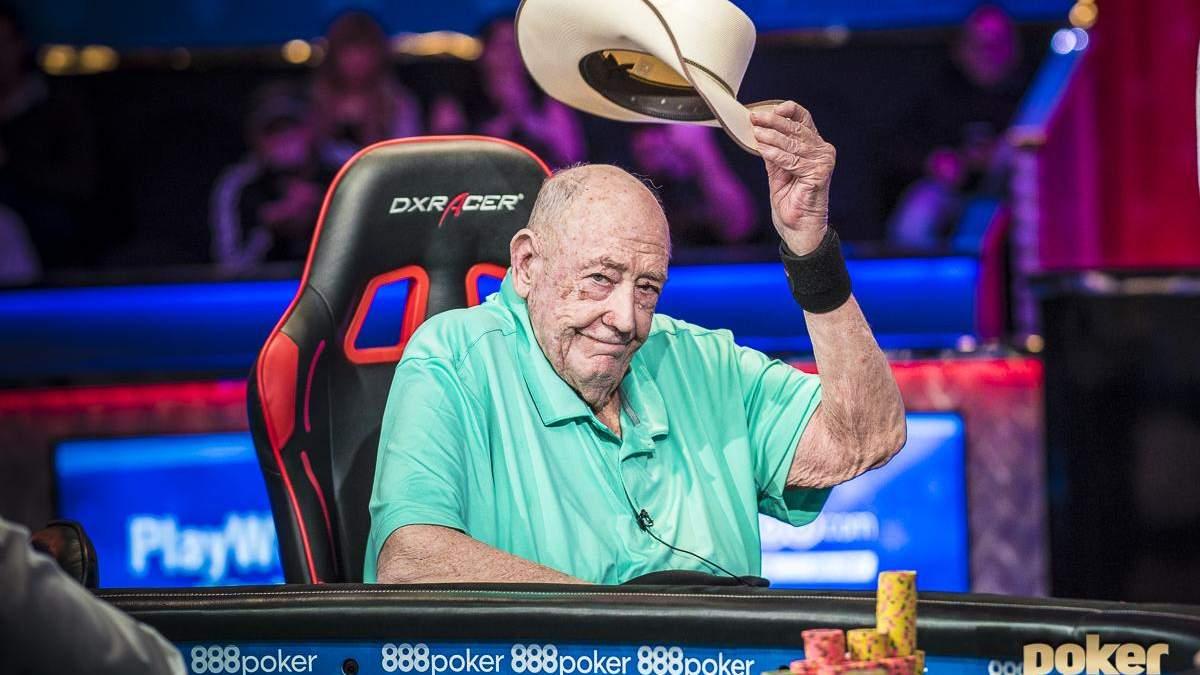 87-річний покерист приїде на WSOP, аби зіграти з сином