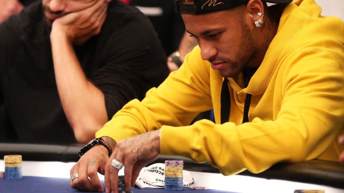 Неймар досягає успіху у новому виді спорту - Новини спорту - Покер