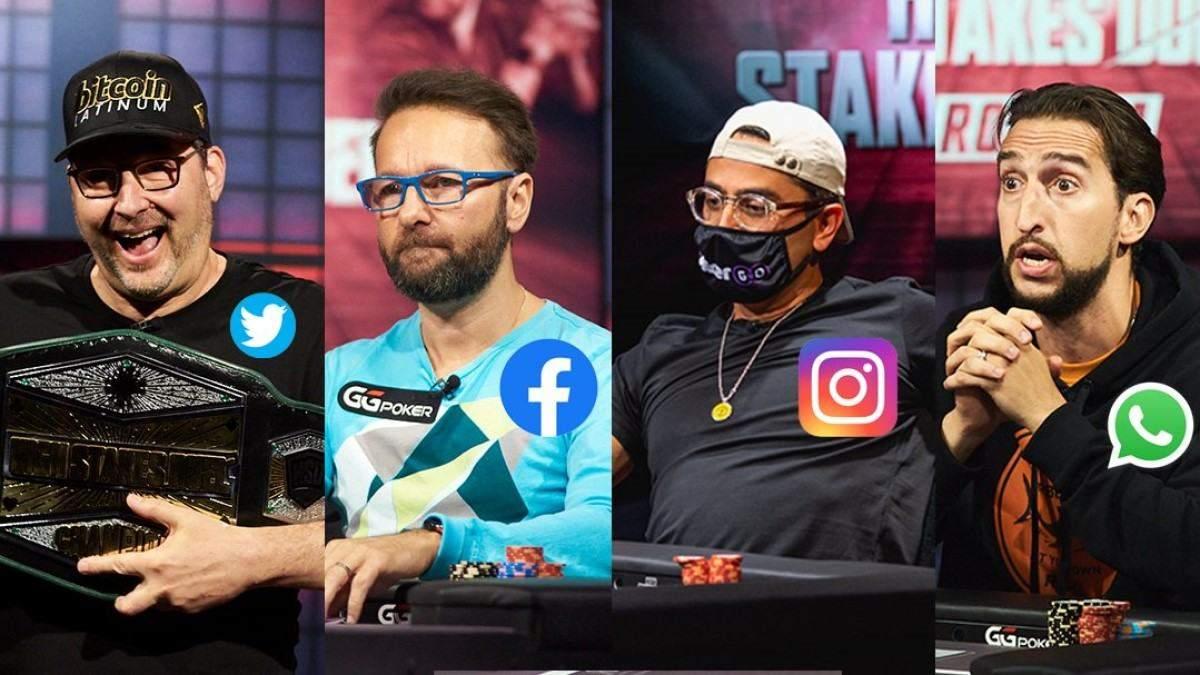Збій Facebook, Instagram, WhatsApp: як тролили падіння соцмереж у світі покеру - Покер