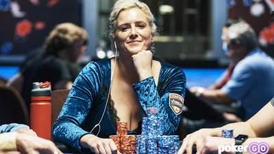 Канадская миллионерша выиграла турнир, раскрутившись с половины блайнда