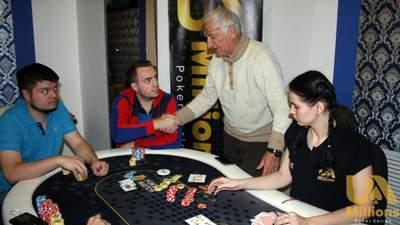 74-річний українець виграв більше 100 тисяч гривень в онлайн-турнірі