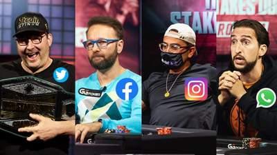 Збій Facebook, Instagram, WhatsApp: як тролили падіння соцмереж у світі покеру