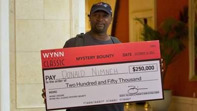 Водитель грузовика за секунду выиграл 250 тысяч долларов