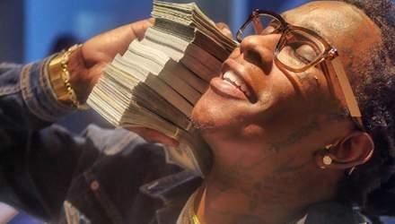 Репер програв 800 тисяч доларів за вечір