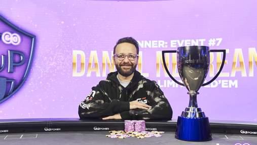 Даніель Негреану впав з-за столу… але виграв загальний залік PokerGo Cup
