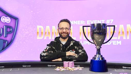 Даниэль Негреану упал из-за стола ... но выиграл общий зачет PokerGo Cup
