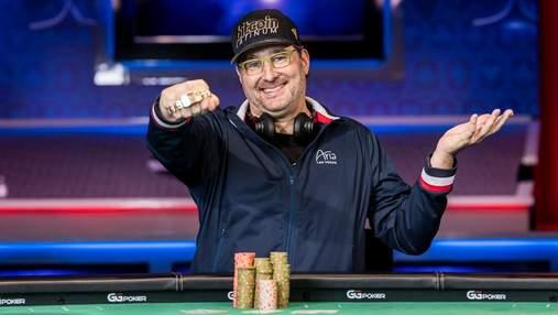 Легендарний Філ Хельмут оновив рекорд за кількістю виграних браслетів WSOP
